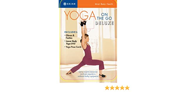 Amazon.com: Yoga On The Go Deluxe Kit: Suzanne Deason ...