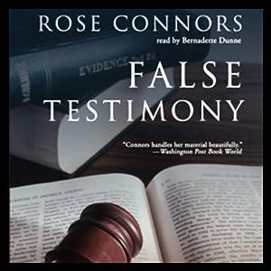 False Testimony Hörbuch