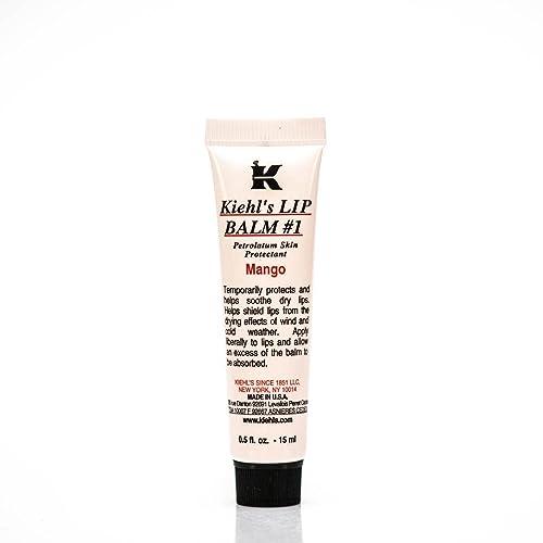 Kiehl's Lip Balm SPF4 Sunscreen - # 1 Mango - 15ml/0.5oz