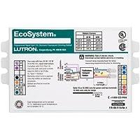 Lutron EcoSystem EC3DT4MWKU2S - 2 Lamp Fluorescent Ballast - 26 Watt CFL - 120 Volt - Dimming - 0.95 Ballast Factor by Lutron