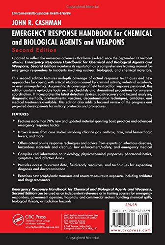 Emergency Response Handbook for Chemical and Biological Agents and Weapons, Second Edition
