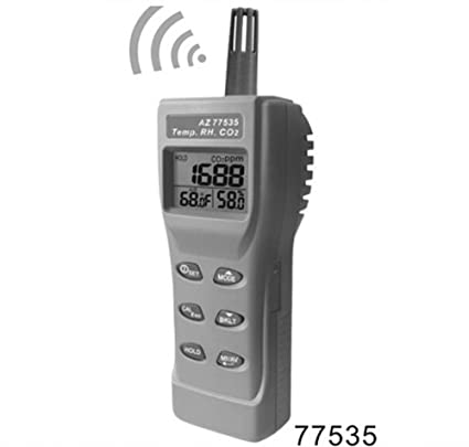 SSEYL AZ-77535 Handheld CO2 Detector, Carbon Dioxide Gas Detector Tester - - Amazon.com