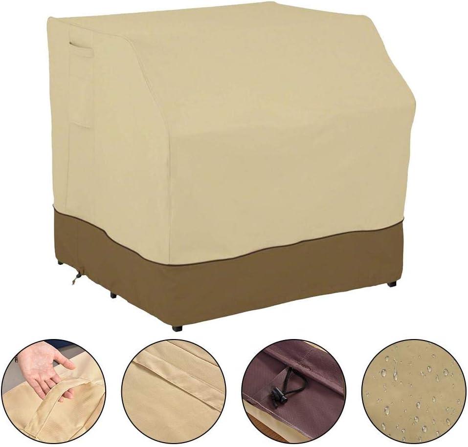 para balc/ón protecci/ón contra el polvo muebles de jard/ín Cubierta para muebles de jard/ín protecci/ón solar para exteriores Pionin resistente al agua 210D resistente al polvo para mesa de bar