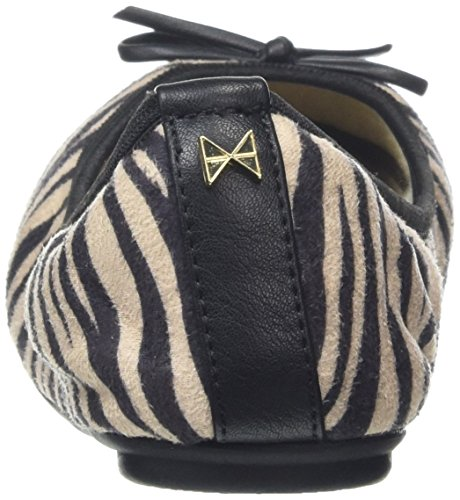 Butterfly Twists Damen Penelope Ballerina Black (Zebra)