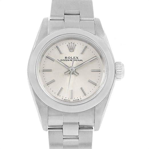 Rolex Oyster 67180 - Reloj automático para Mujer (Certificado de Propiedad previa)
