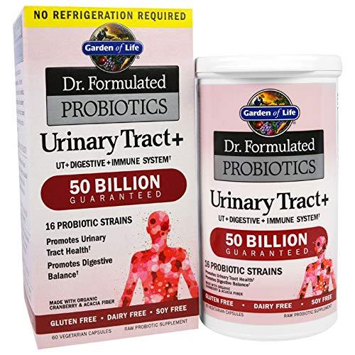 Garden of Life, Dr. Formulated Probiotics, Urinary Tract+, 60 Veggie Caps