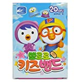 PORORO Band-Aid Brand Adhesive Bandages Featuring