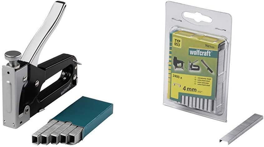 Wolfcraft 7088000-1 graffatrice manuale tacocraft 5