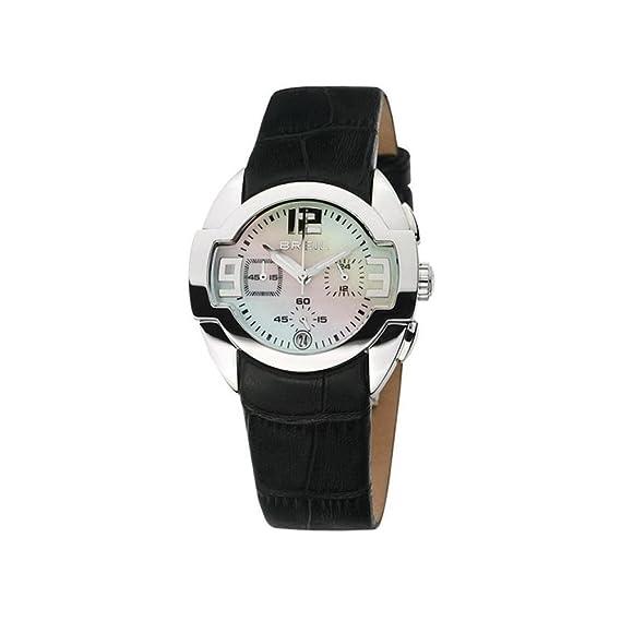 Breil Reloj analogico para Mujer de Cuarzo con Correa en Piel BW0048: Breil: Amazon.es: Relojes