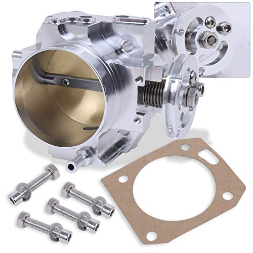 Silver 70mm Intake Manifold Throttle Body Plate Assembly For K-Series K20 K20A2 Engines (Best K Series Intake Manifold)