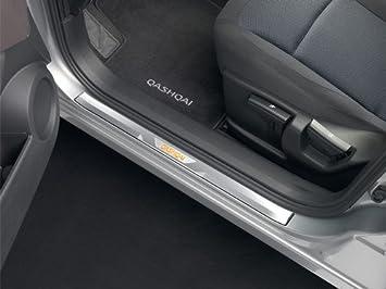 Nissan Embellecedor para marco inferior de puerta delantera, para Nissan Qashqai: Amazon.es: Coche y moto