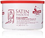 Satin Smooth Wild Cherry Hard Wax with Vitamin E, 14 oz.