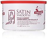 Satin Smooth Wild Cherry Hard Wax with Vitamin E, 14 oz.