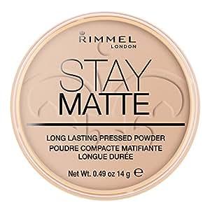 Rimmel London Stay Matte Pressed Powder, Silky Beige, 0.3oz (8.5 g)