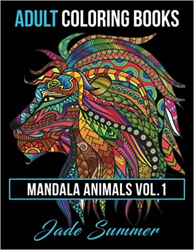Amazon 1 Adult Coloring Books Animal Mandala Designs And Stress Relieving Patterns For Anger Release Relaxation Zen Animals