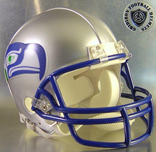 Seattle Seahawks 1983 to 2001 - NFL MINI Helmet by Gridiron Football Helmets