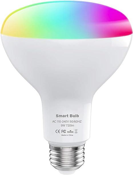 WiFi Smart Glühbirne Intelligente Birne LED Lampe Dimmbar für Alexa Google Nue