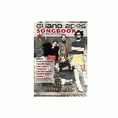 Guano Apes - Das Songbook: Füe gitarre, Bass & Gesang. Deutsch/English Taschenbuch – 1. November 2005 PPVMEDIEN 3932275713 Biographien Instrumentenunterricht