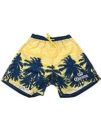 Corona Boardshorts Summer Beachwear Surf Swim Hawaiian Cruise Palms Shorts