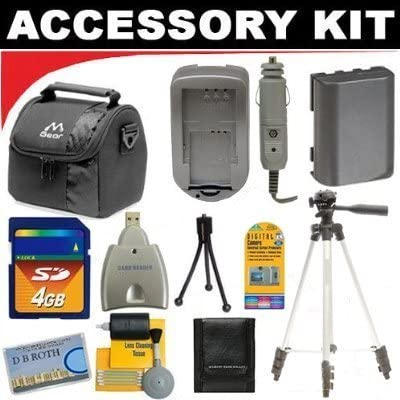 Deluxe DB ROTH Accessory Kit For The Canon Powershot N Digital Camera