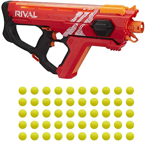 Perses Mxix-5000 Nerf Rival Motorized Blaster (Red) -- Fastest Blasting Rival System