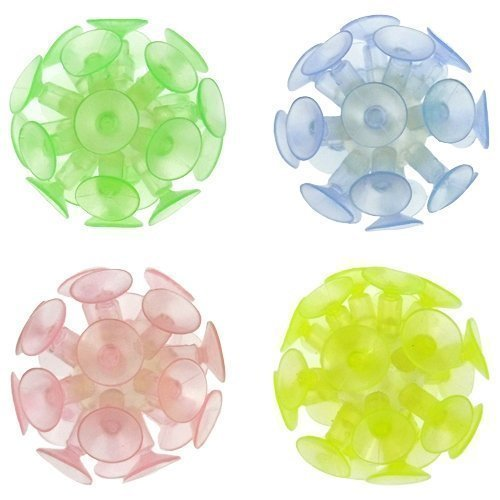 Suction Ball 2 inch Glow in the Dark