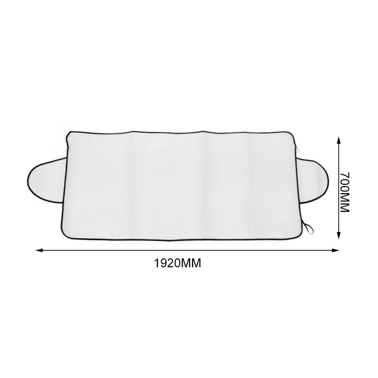 Multipurpose Car Auto Windshield Cover Anti Shade Frost Ice Snow Protecting Cover UV Fading Dust Proof Cotton Car Covers