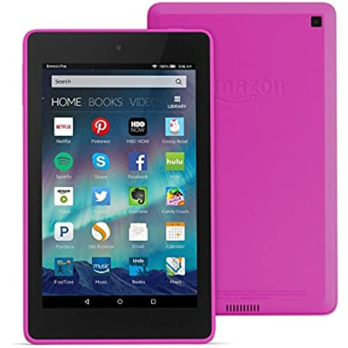 Fire HD 6 Tablet, 6 HD Display, Wi-Fi, 16 GB - Includes Special Offers, Magenta Coupons
