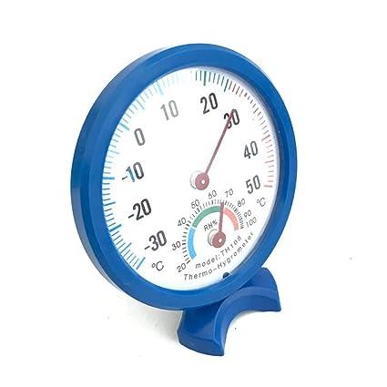 Floridivy Thermomètre intérieur Multifonctionnel hygromètre ...