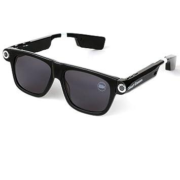 OOLIFENG Bluetooth Gafas Sol con Cámara HD 720P Grabadora ...