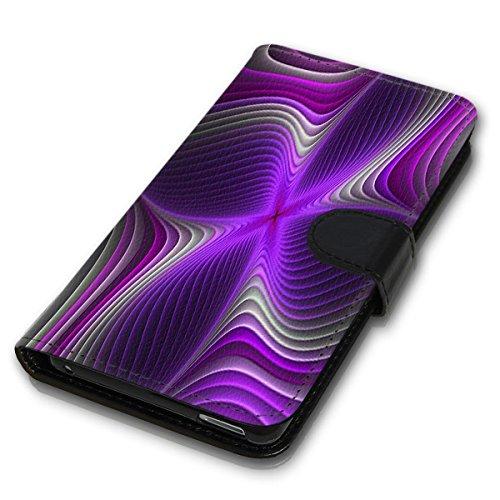 Wallet Book Style Flip Handy Tasche Case Schutz Hülle Schale Motiv Etui für Apple iPhone 6 Plus / 6S Plus - Design Flip MVD337