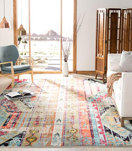 Safavieh MNC222F-9SQ area rug, 9' Square, Multi