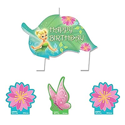 """Amscan AMI 170170 Candles, 1.25"""", Multicolor: Childrens Cake Decorations: Kitchen & Dining"""