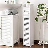 Small Bathroom Storage Corner Floor Cabinet with