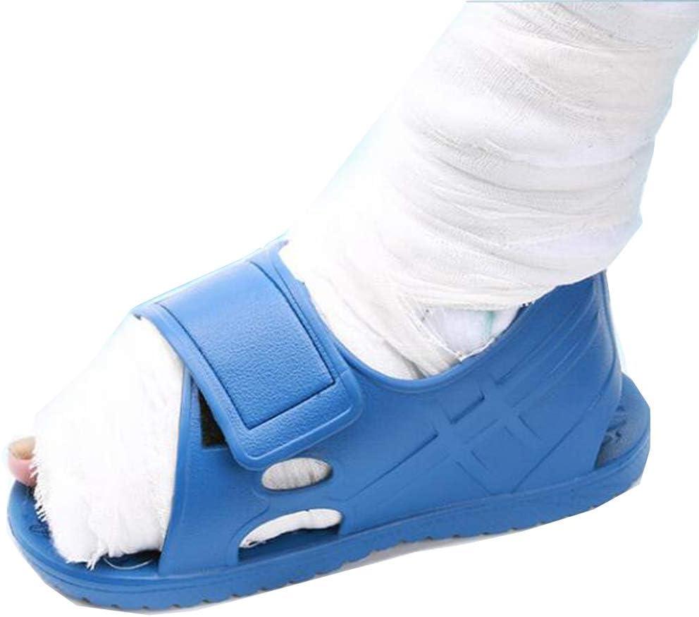 WYY Punta Abierta Moldeada Yeso Zapato, Sandalia Ortopédica para El Poste del Pie O del Dedo del Pie De Operaciones/Cirugía Cuando Convencional Calzado No Se Puede Utilizar,1pcs,XL