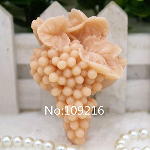 Creativemoldstore 1pcs Grape String (zx0053) Craft Art Silicone Soap Mold Craft Molds DIY Handmade Soap Mould