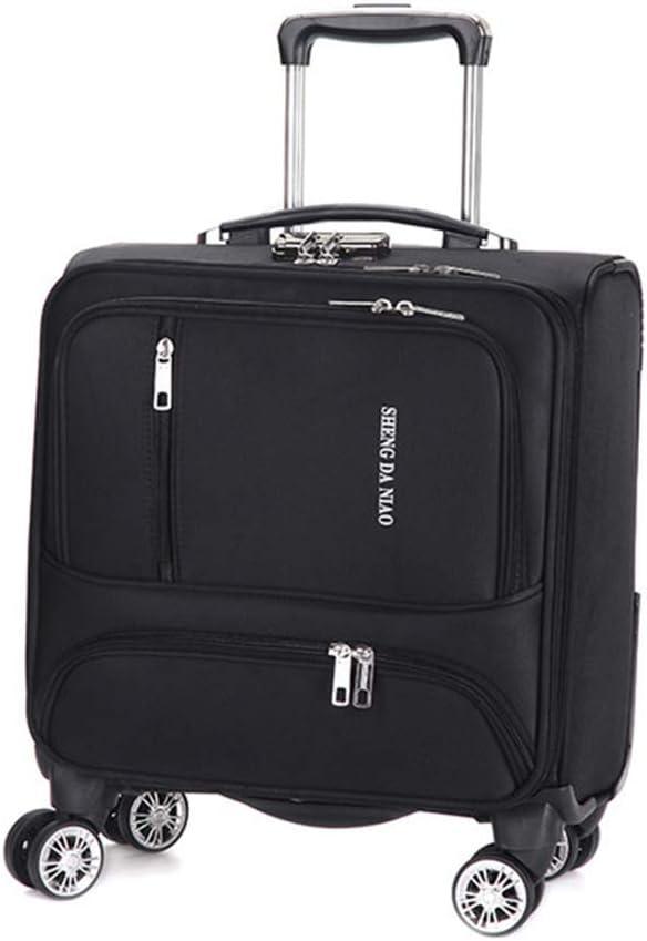 CX TECH Sac dordinateur Portable 18 Pouces /à 4 Roues Sac de Bureau Mobile de qualit/é sup/érieure pour Mallette de Transport /à la Mode