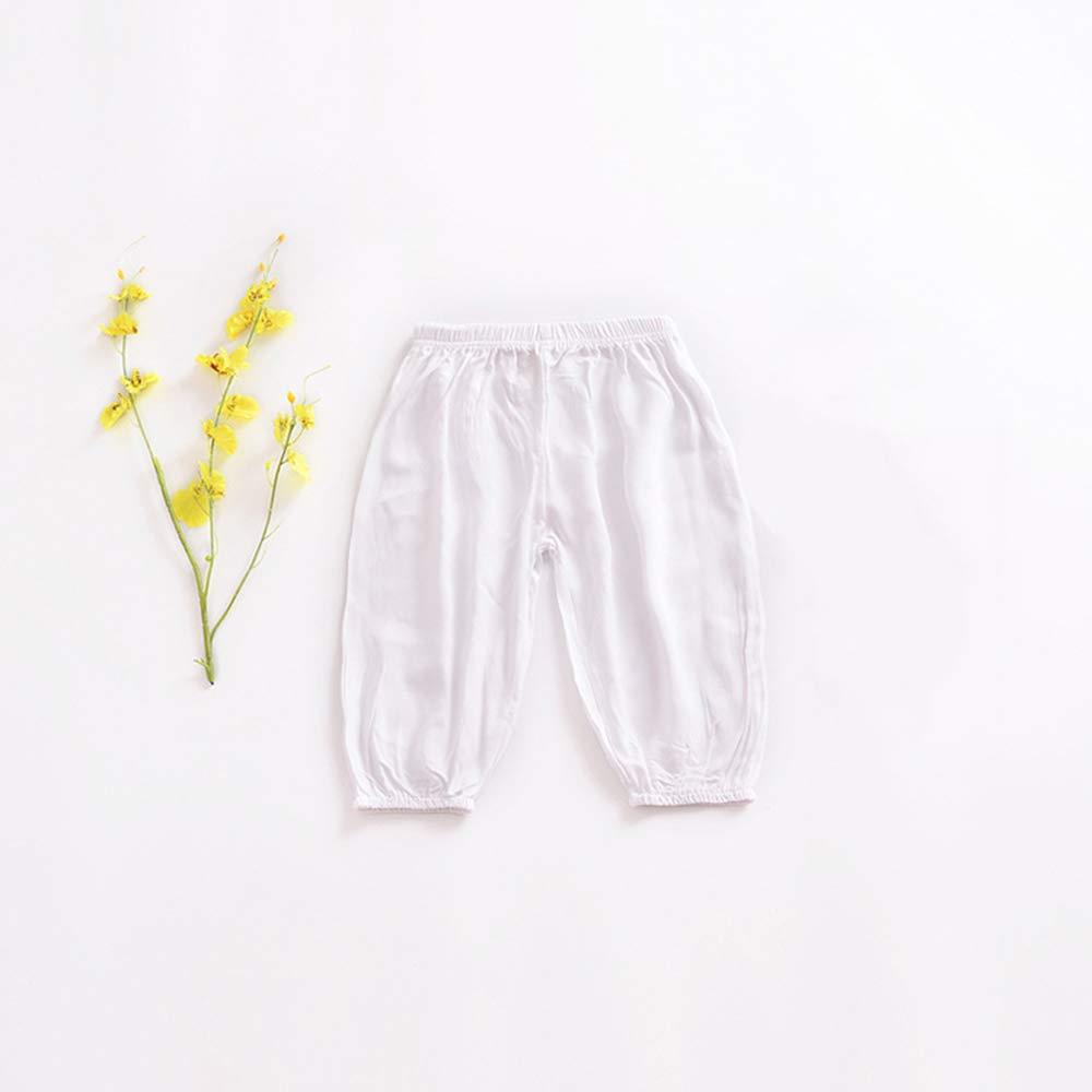 axusndas Unisex Informales Pantalones Sueltos para ni/ños el/ásticos
