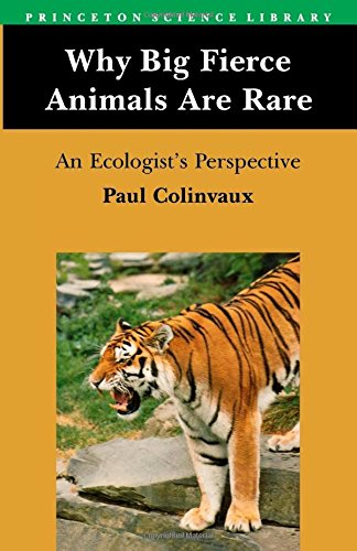 Why Big Fierce Animals Are Rare: An Ecologist's Perspective (Atlanta Hammocks)