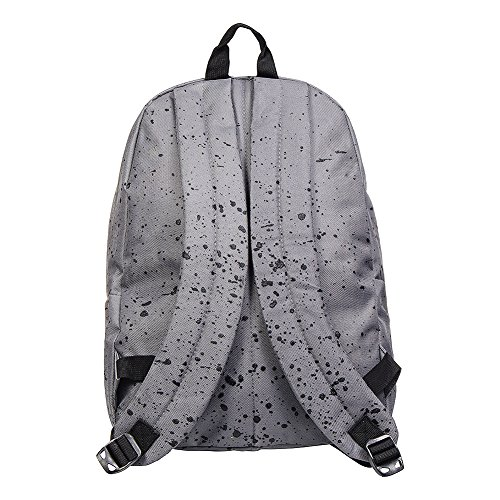 Hype Speckle Rucksack (Grey/Black)