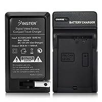 Cargador de batería Insten LP-E5 compatible con Canon EOS Rebel T1i Xsi Xs