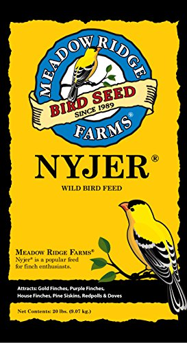 Meadow Ridge Farms Thistle Nyjer, 20-Pound Bag Bird Food