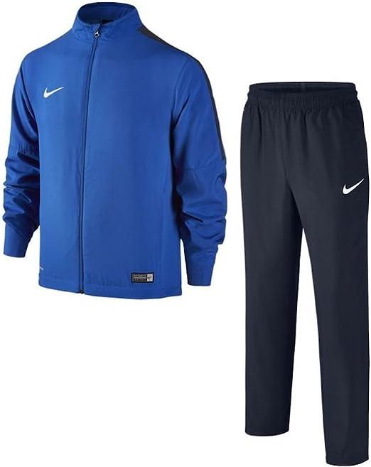 Nike nero Poly Track Top Cerniera Intera Top Poly Track Top Pants per bambini ragazzi