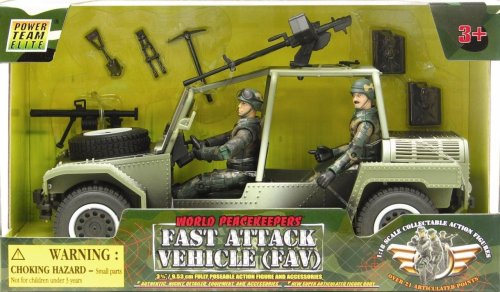 World Peacekeepers Fast Attack Vehicle (FAV)