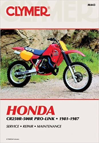 Honda CR250-500R Prolink, 1981-87: Clymer Workshop Manual