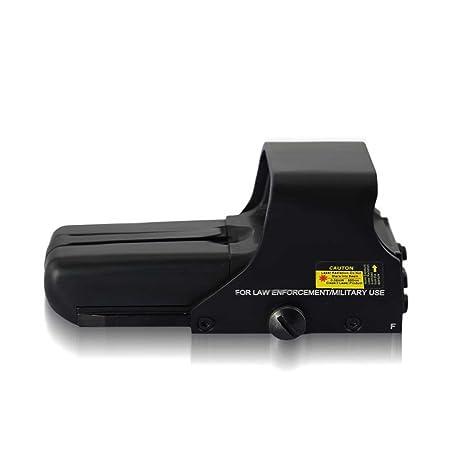 10 niveles de brillo MAYMOC mira Red Dot punto verde vista alcance adapta a cualquier riel de 20mm