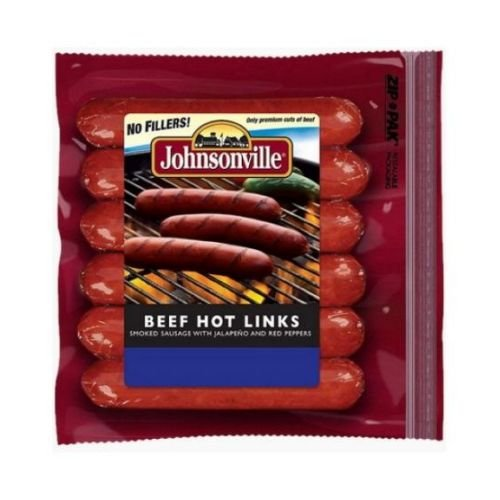(Johnsonville Beef Hot Links, 12 Ounce -- 10 per)