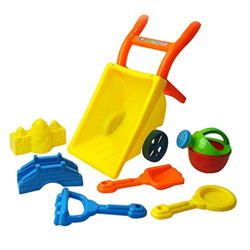 【ノーブランド 品】おもちゃ ビーチ 子供 手押し車 プレイセット ギフト マルチカラー