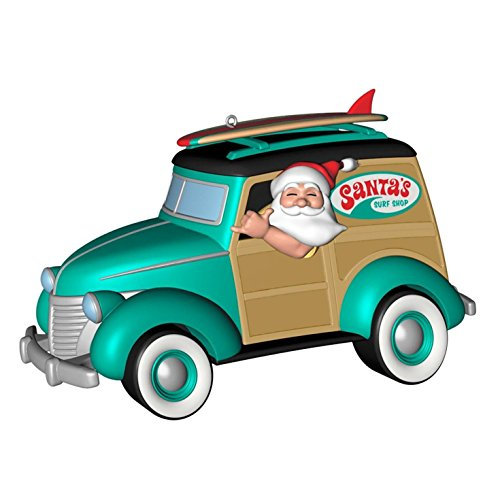 (1 X Surfi n' Safari Santa - 2014 Hallmark Keepsake Ornament )