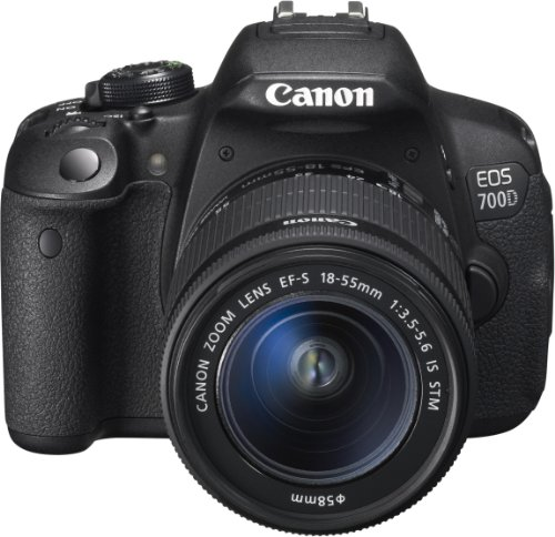 Canon EOS 700D EF-S 18-55mm 3.5-5.6 IS STM Digital Camera Kit – International Version